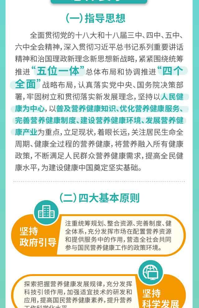 健康中国 国民营养计划(2017-2030年)